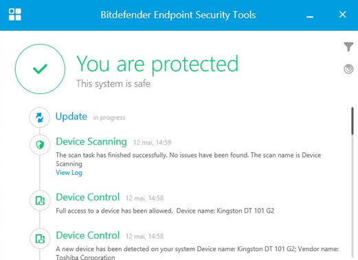 BitDefender Endpoint Security Tools