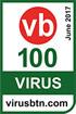 Virus Bulletin 100%